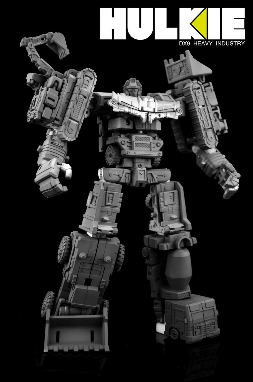 DX9 - War in Pocket - Hulkie set of 6 figures
