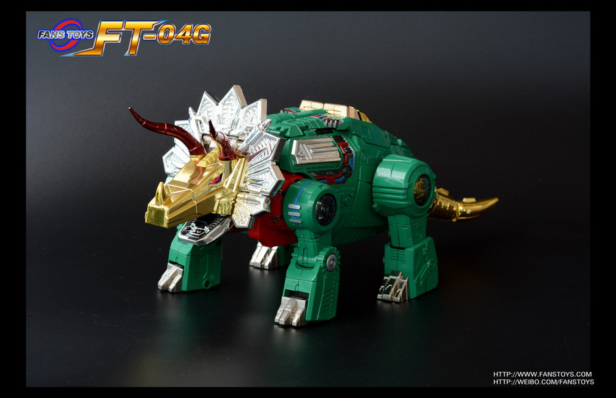 Fans Toys FT-04G - Scoria Limited Edition Green Color