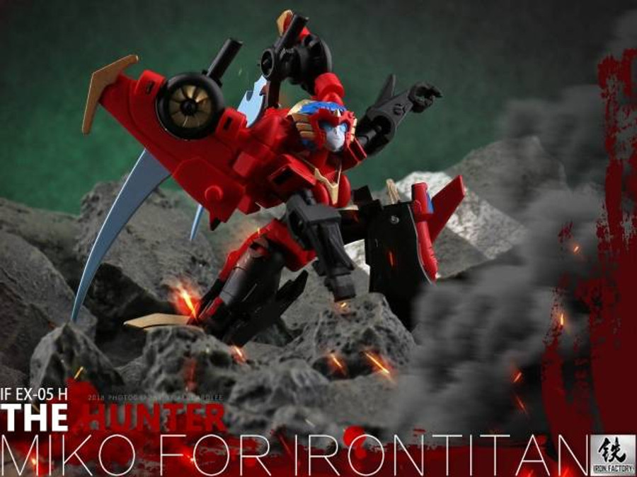 Iron Factory - IFEX05H - The Hunter (Miko for Irontitan)