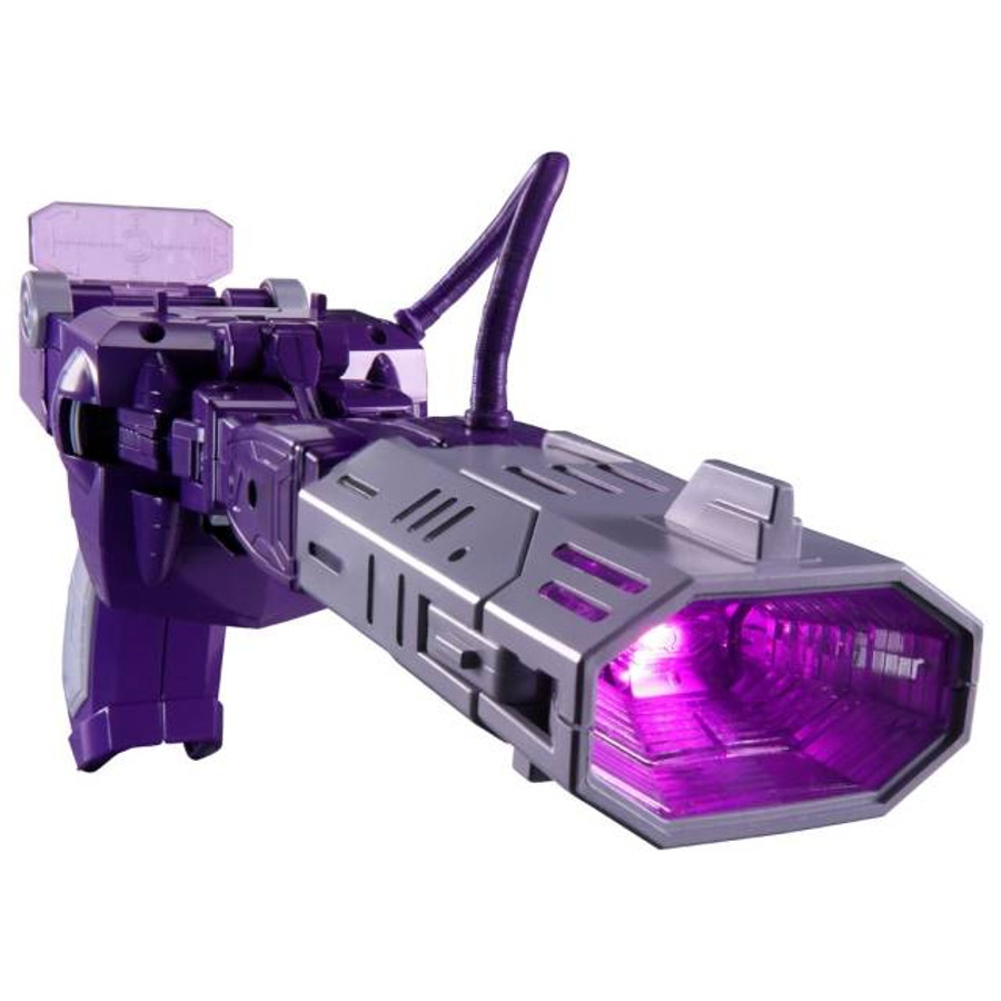 MP-29+ Masterpiece Shockwave Laserwave - Toy Color Version