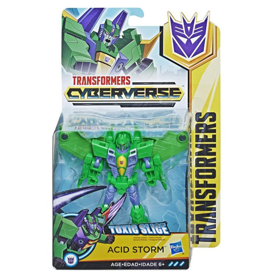 Transformers Cyberverse - Warrior Acid Storm