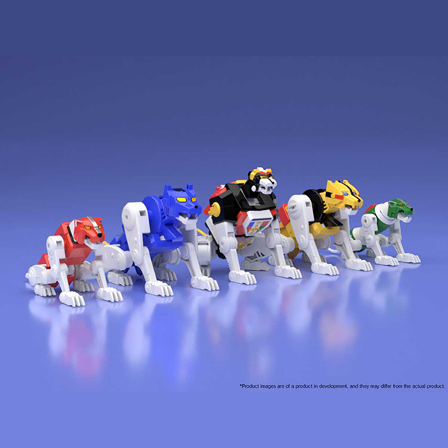 Bandai - Voltron Super Mini Pla Set (SDCC 2018 Exclusive)