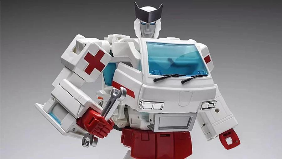 WeiJiang - Deformation Era - Robot Force: Steel Guard