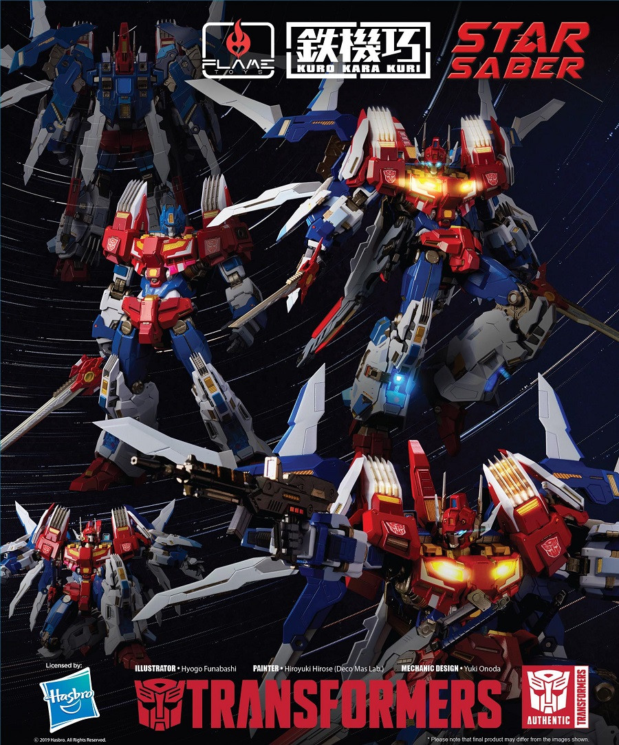 Flame Toys - Transformers Star Saber
