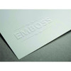 Emboss paper with the Silhouette Curio