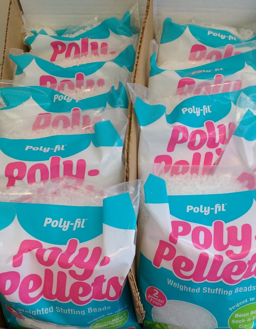 Poly pellets - Box of 12 bags x 907 g