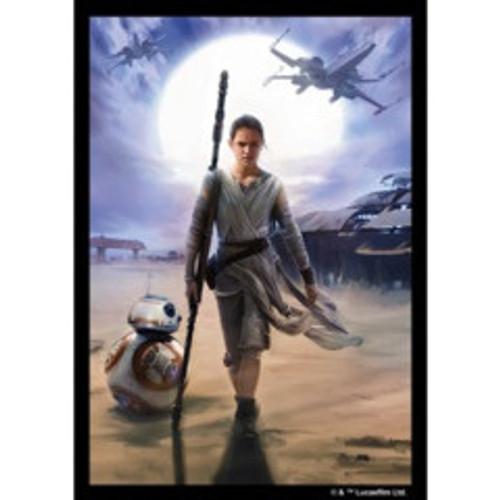 Fantasy Flight Art Sleeves: Star Wars - Rey Limited Edition