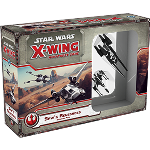 Star Wars: X-Wing Miniatures Game – Saw's Renegades