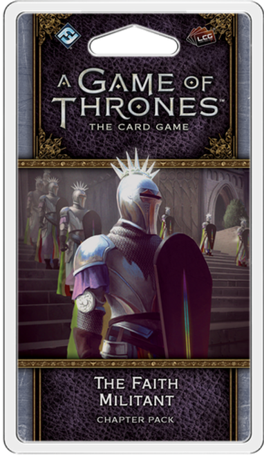 A Game of Thrones: The Card Game (Second Edition) – The Faith Militant