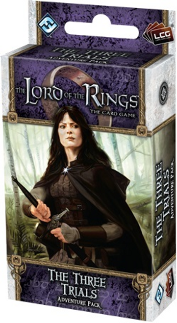The Lord of the Rings LCG: The Three Trials Adventure Pack