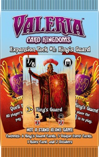 Copy of Valeria: Card Kingdoms – Expansion Pack #1: King's Guard