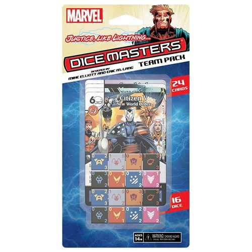 Marvel Dice Masters: Justice Like Lightning Team Pack