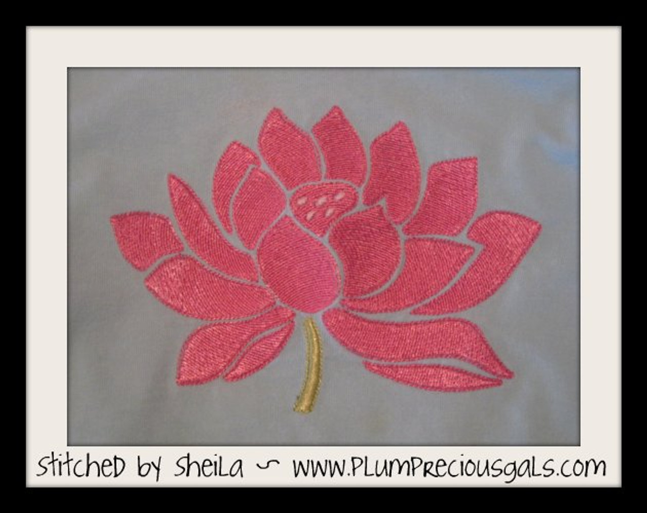Lotus flower in full bloom machine embroidery designs no 524 lotus flower in full bloom machine embroidery designs mightylinksfo