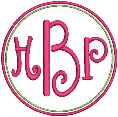 1362 entwined or vine 3 letter monogram machine embroidery designs 3 no 1344 swirly 3 letter monogram machine embroidery designs 3 inch high spiritdancerdesigns Images