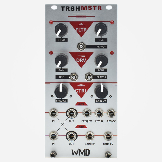 WMD TRSHMSTR Trashmaster Eurorack Filter and Distortion Module ACID Dod Tubescreamer