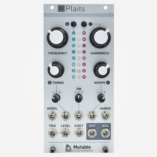 Mutable Instruments PLAITS Eurorack Macro Oscillator