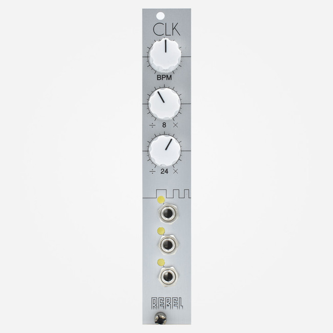 Rebel Technologies CLK Eurorack Master Clock with Divisions Module
