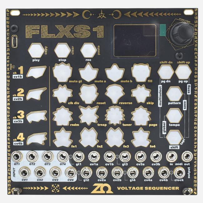 ZetaOhm FLXS1 Advanced Four-track Eurorack Sequencer Module