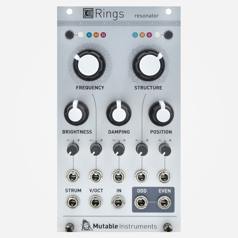 Mutable Instruments Yarns Eurorack Modal Oscillator Module