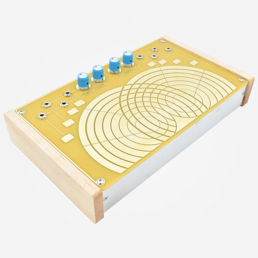 Landscape Stereo Field Feedback Voltage generator and processor