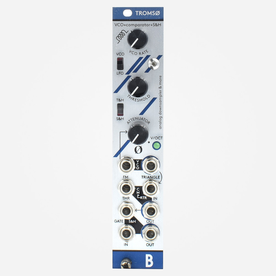 Bastl Tromso Eurorack Oscillator, LFO, and Sample and Hold Module