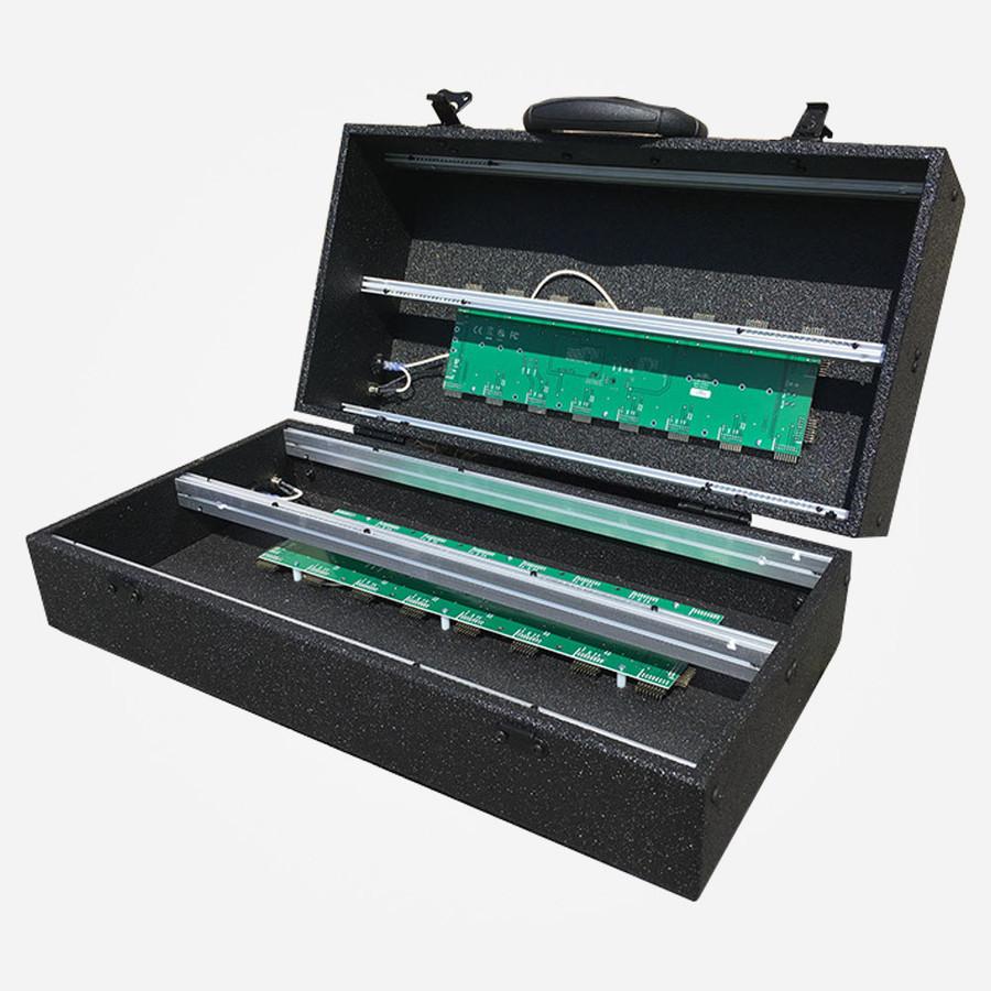 Elite Modular E416 Portable Eurorack Case with Lid Open