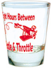 Eight Hours Shot Glass (Red)