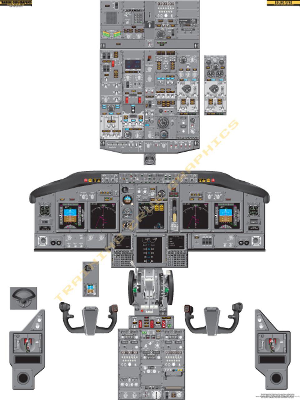Boeing 737-800 Poster