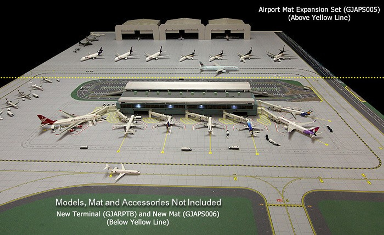 Airport Airside/Landside Terminal Complex