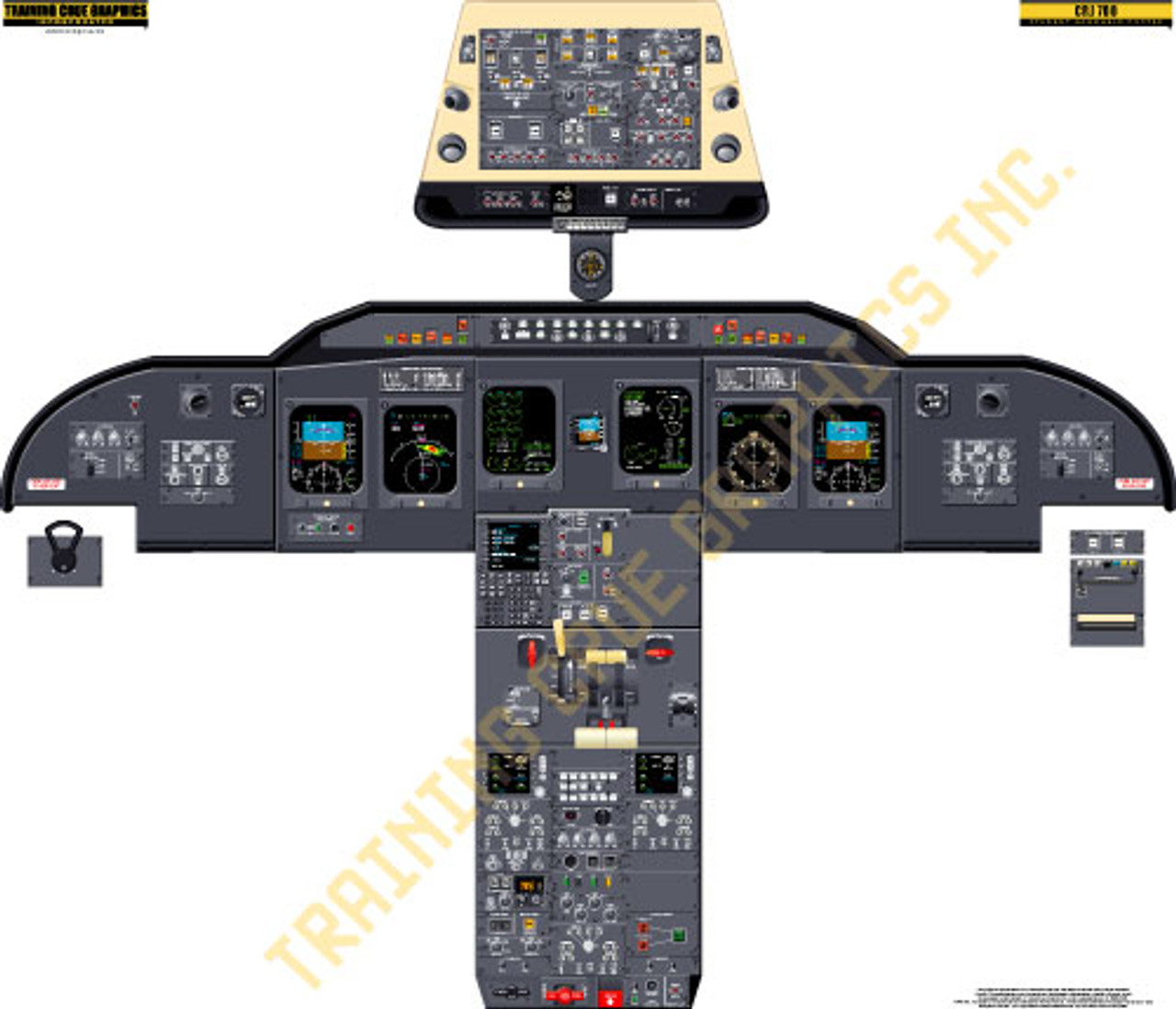 Bombardier CRJ 700/705/900 Poster