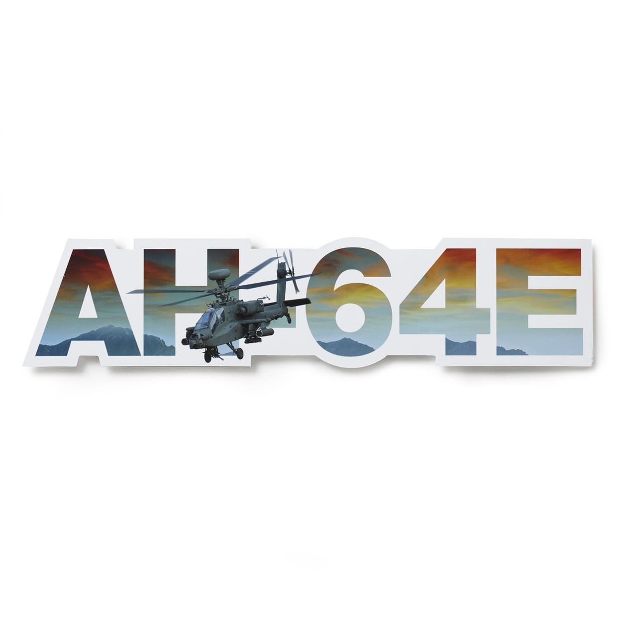 AH-64E  Die-Cut Sticker