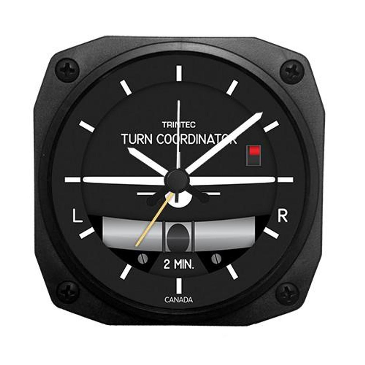 "3.5"" Modern Turn & Bank Alarm Clock"