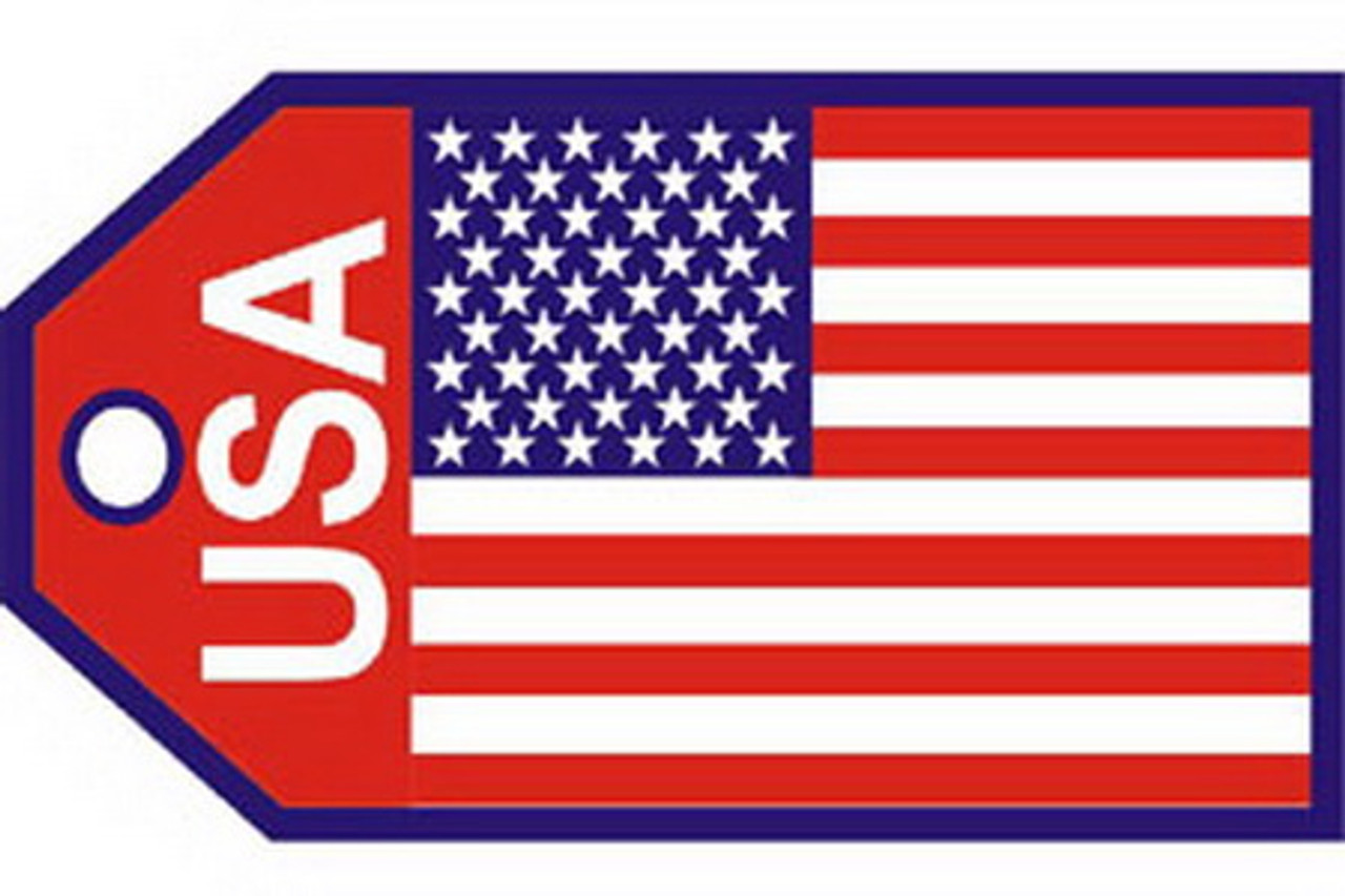 USA Flag Luggage Tag