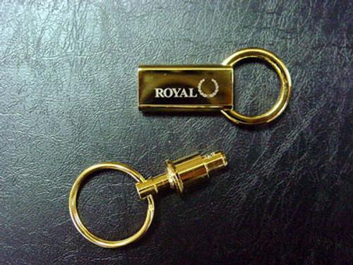 Royal Airlines Brass Keyring