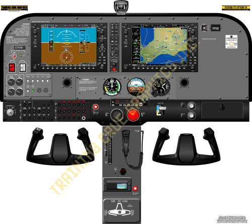 Cessna 172SP (Garmin G1000) Poster