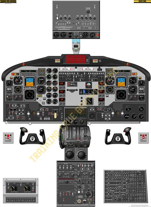 Beechcraft 1900D Poster