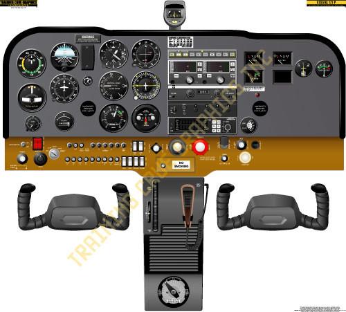 Cessna 172M Poster