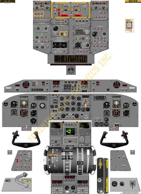 Bombardier Dash 8-200 EM Poster
