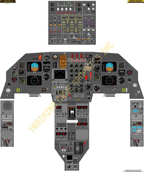 Dassault Falcon 50 Poster