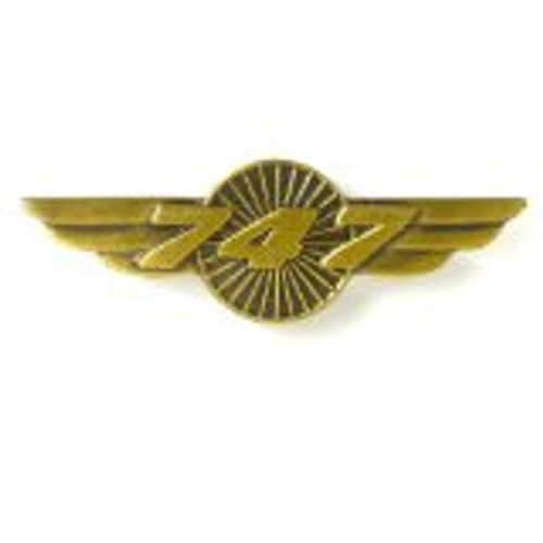 747 Wings Pin