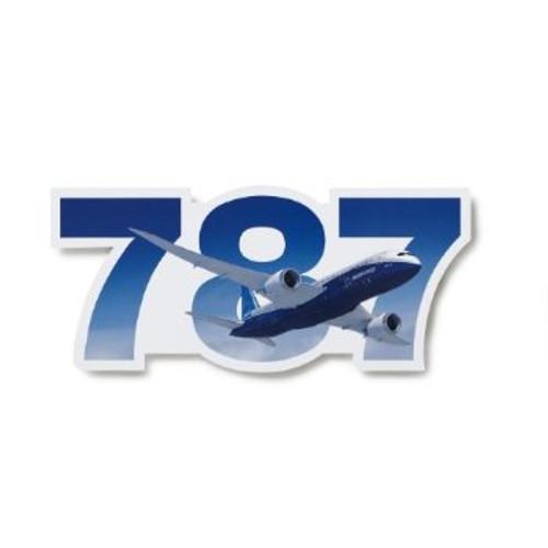 787 Program Sticker