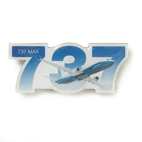 Boeing 737 MAX Sky Pin