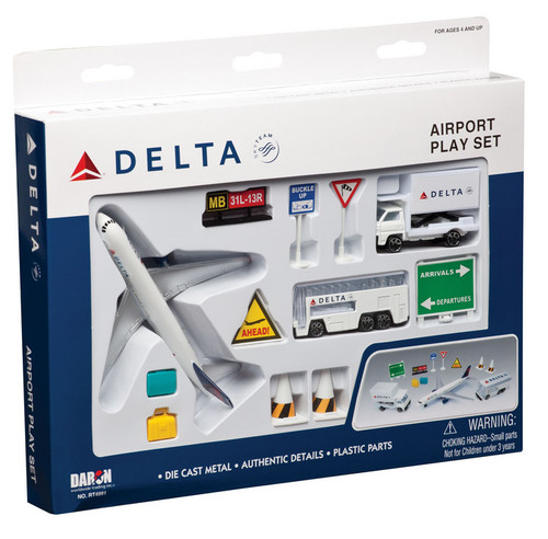 Delta Airlines Playset
