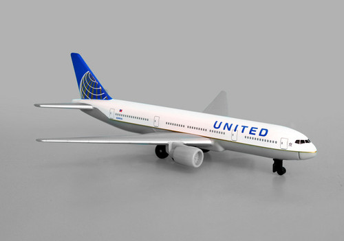 United Airlines Single Plane