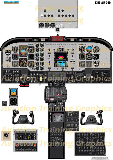 King Air 200 Training Poster