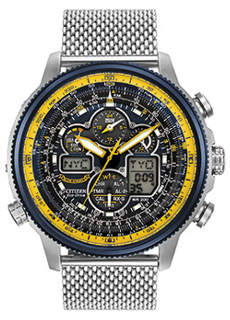Citizen Blue Angels World Chrono Mesh Band