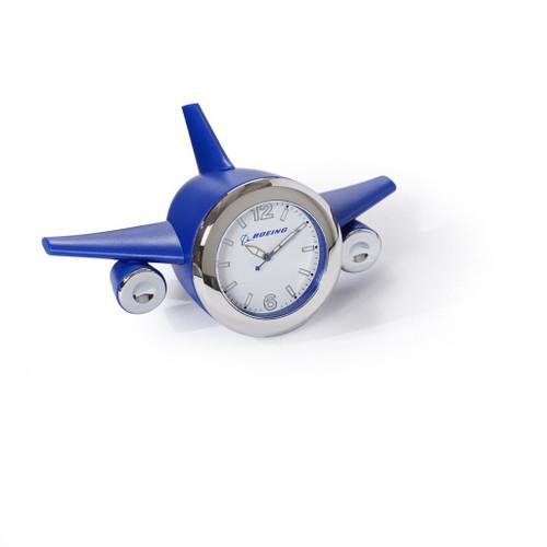 Boeing Airplane Desk Clock