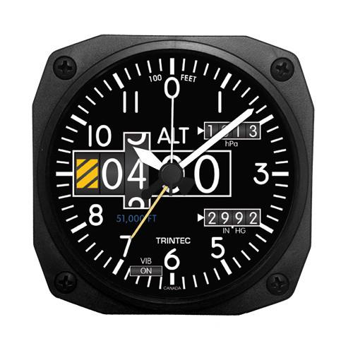"""3.5"""" NV  Altimeter Desk Model Alarm Clock"""
