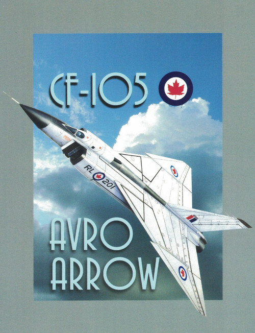 Avro Arrow Magnet Sticker