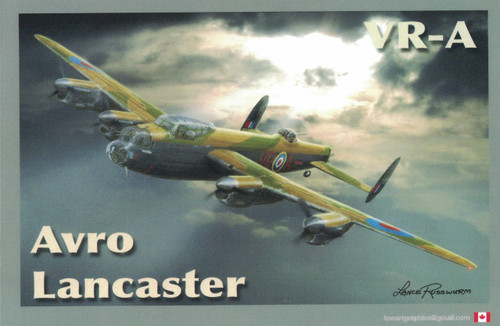 Avro Lancaster Magnet Sticker
